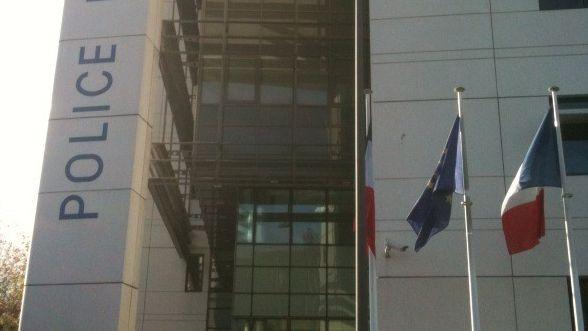 Le commissariat de police à Bordeaux.