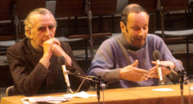 Georges Charensol et Jean-Louis Bory
