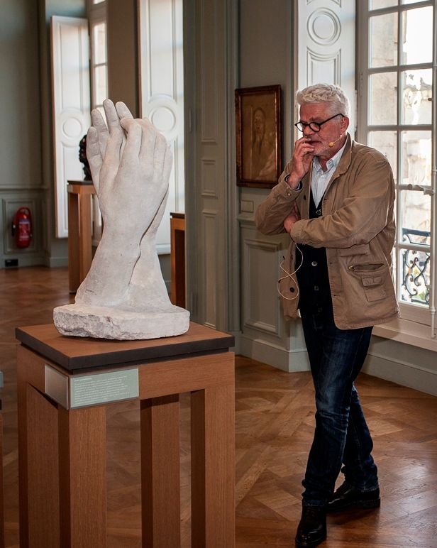 Didier Vermeiren au musée Rodin