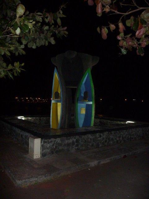 Monument pour l'identité et la liberté, quartier Terre Sainte, St Pierre, Ile de la Réunion