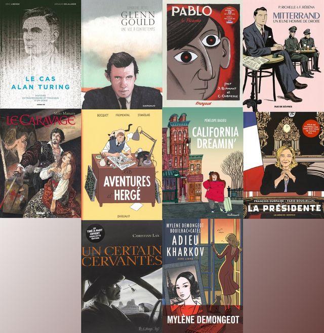 Les meilleures biographies dessinées