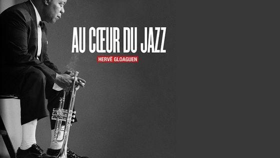 Photo - montage couv Au Coeur du Jazz de Hervé Gloaguen MEA 603*380