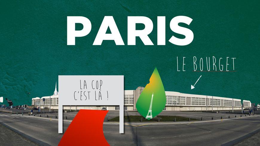 La COP21 se tiendra à l'aéroport du Bourger, près de Paris