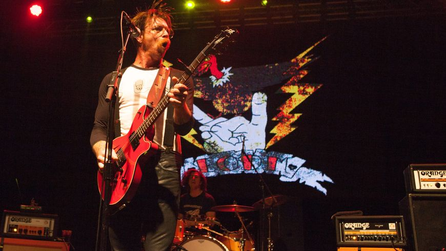 Le chanteur des Eagles of Death Metal, Jesse Hughes, le 9 novembre dernier