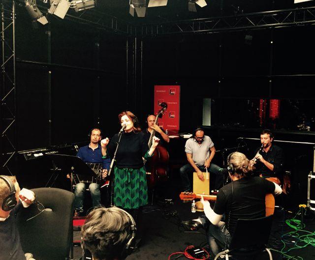 Agnès Jaoui et El Quintet Oficial - LIVE