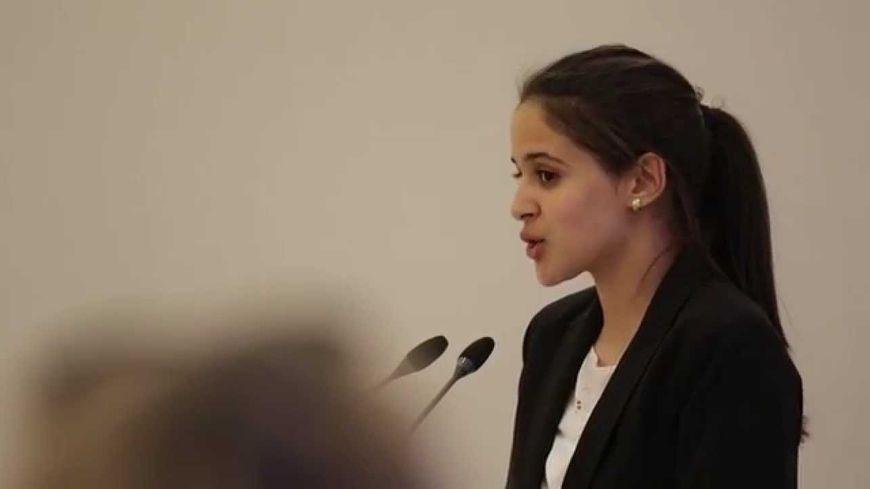 Hanna Zerguit, lauréate du concours 2015