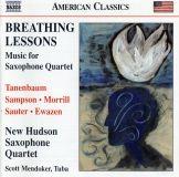 11 Breathing Lessons et autres pièces pour quatuor de saxophones.jpg