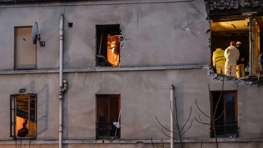 L'appartement où a eu lieu l'assaut mercredi à Saint-Denis
