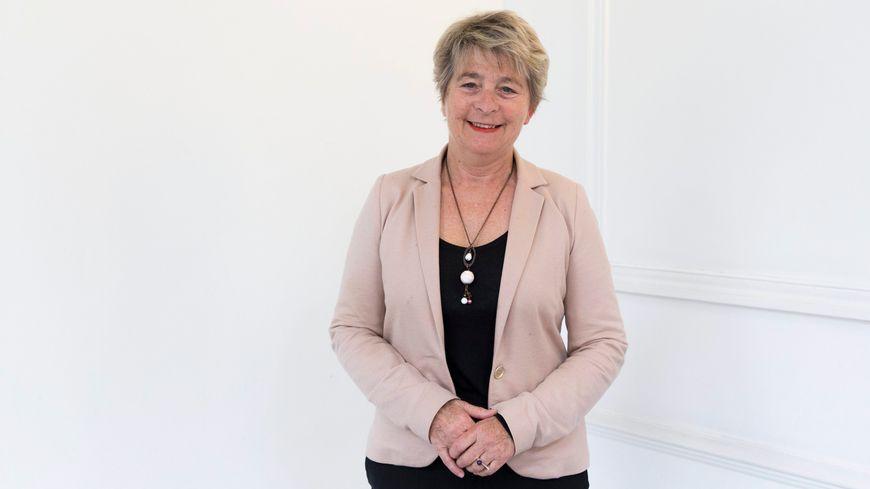Marie-Guite Dufay, tête de liste socialiste aux régionales en BFC.