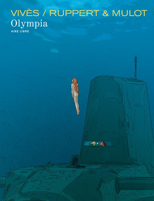 Couverture Olympia