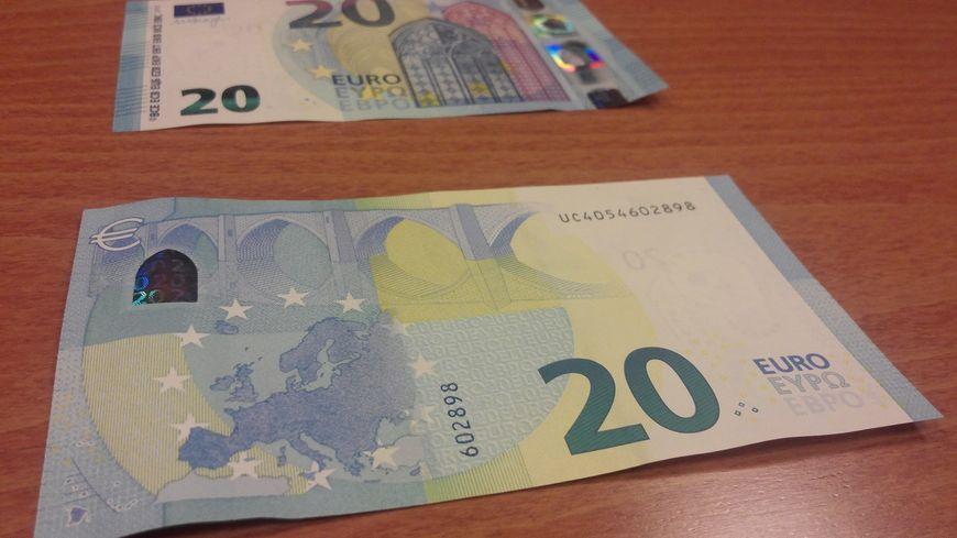Le nouveau billet de 20 euros fabriqué à Chamalières