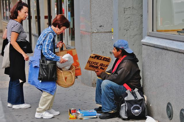 Helping the homeless in New York City