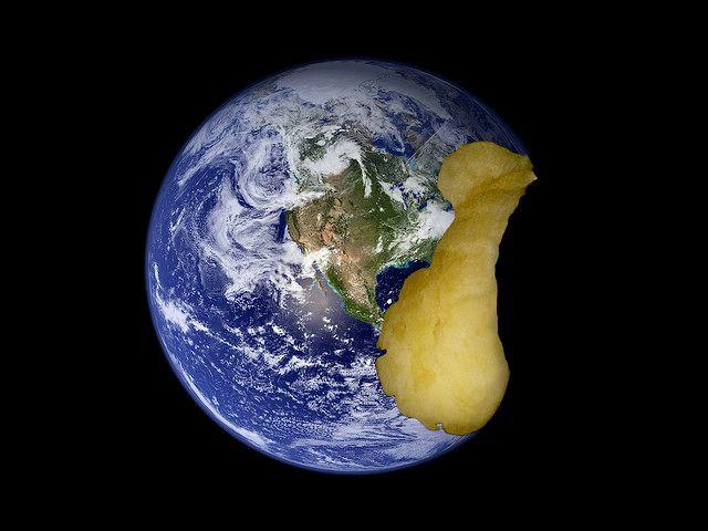 Eating earth