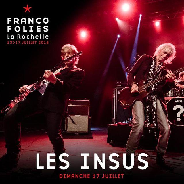 Les Insus au Francos 2016