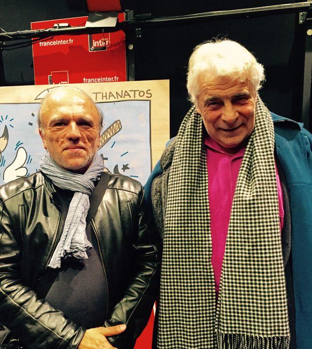 William della Rocca et Jacques Weber