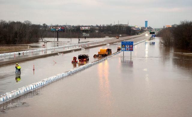 Missouri inondé