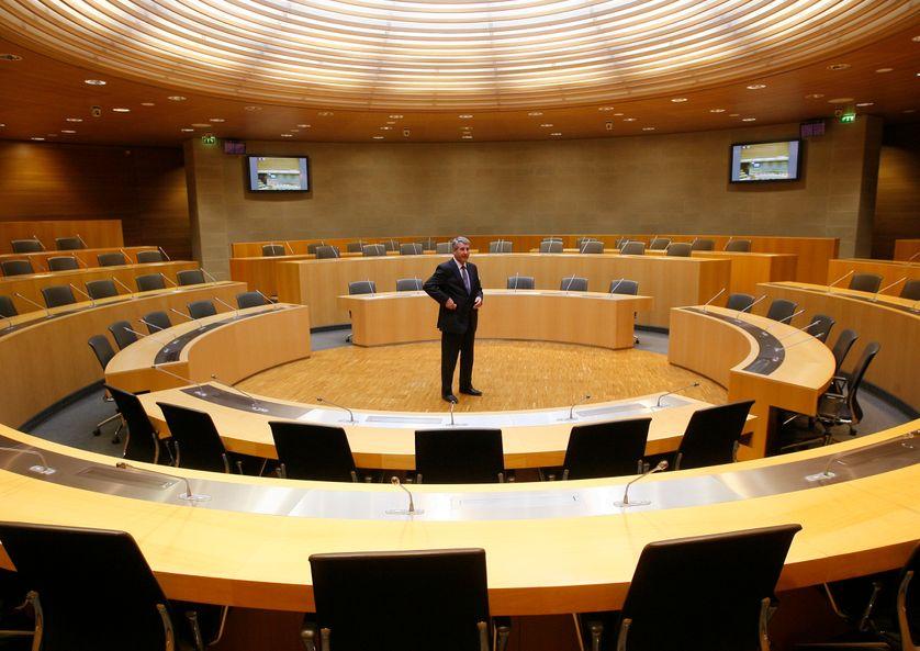 Hémicycle du Conseil régional d'Alsace, mars 2010