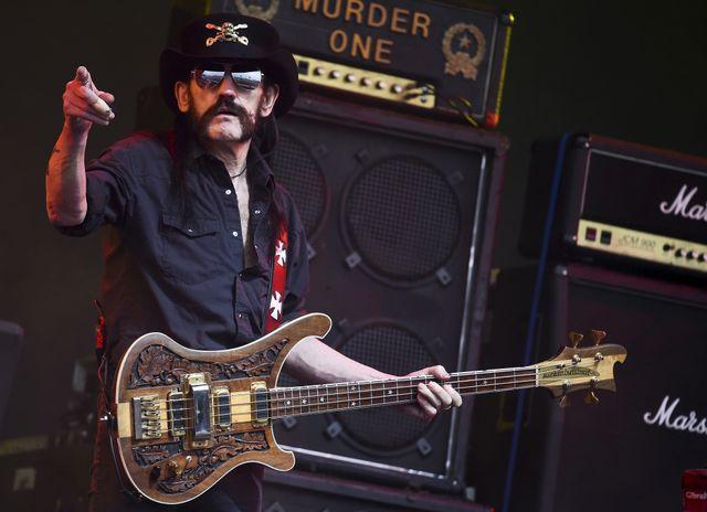 Lemmy au Glastonbury festival en juin 2015