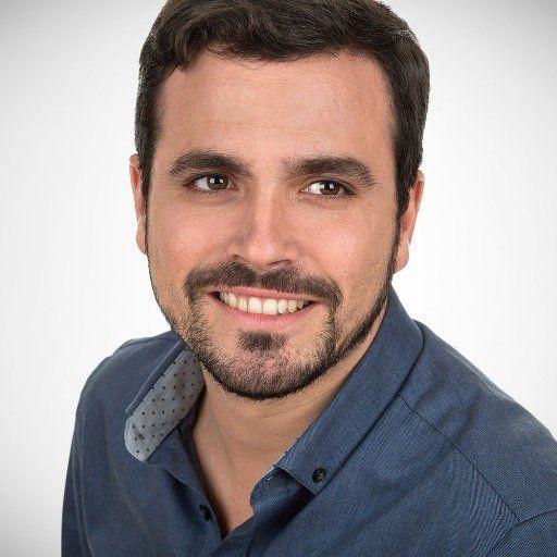 Alberto Garzón, candidat aux législatives espagnoles de fin 2015 pour Unidad popular