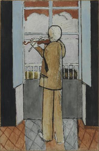 Le violoniste à la fenêtre / Henri Matisse / 1918