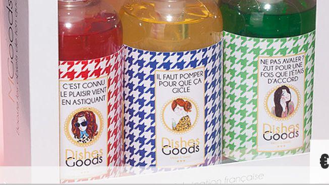 Les slogans de ce produit vaisselle font polémique sur les réseaux sociaux