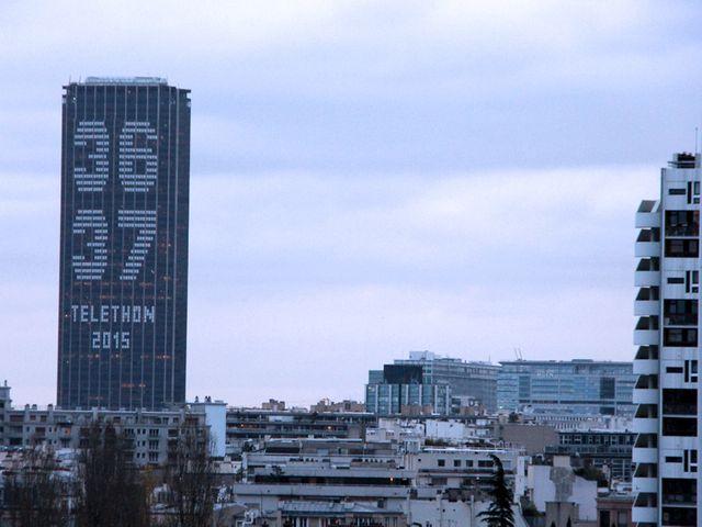Tour Montparnasse - Telethon