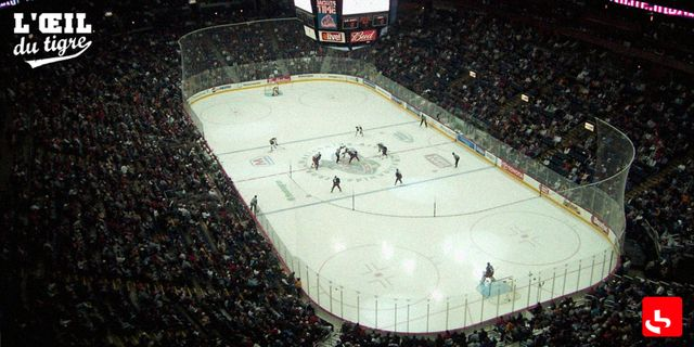 w:Nationwide Arena in Columbus, Ohio, United States during a sold-out National Hockey League ice hockey game between the Columbu