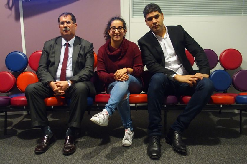 Anouar Kbibech, Radia Bakkouch et Rachid Benzine