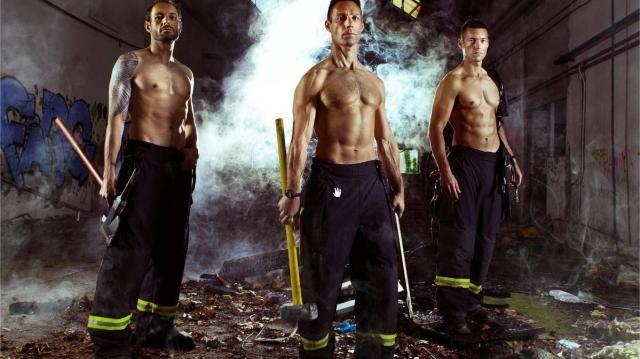 Le calendrier des pompiers de Lorient