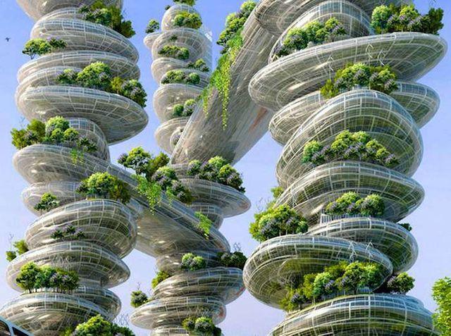 Vincent Callebaut - Projet Paris