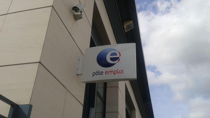 L'agence Pôle Emploi de Bellevue, à Saint-Etienne.