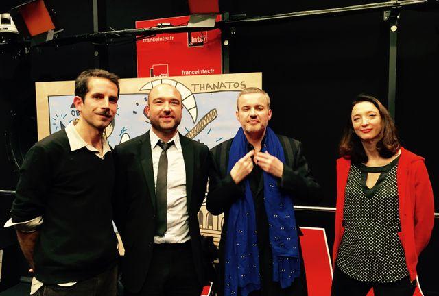 Jul, Xavier Mauduit, Emmanuel Pierrat et Emmanuelle Julien