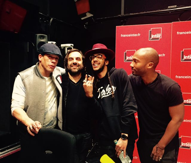 JoeyStarr, André Manoukian, Nathy et Moody Mike