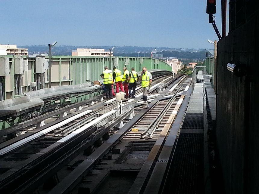 travaux sur ligne de métro