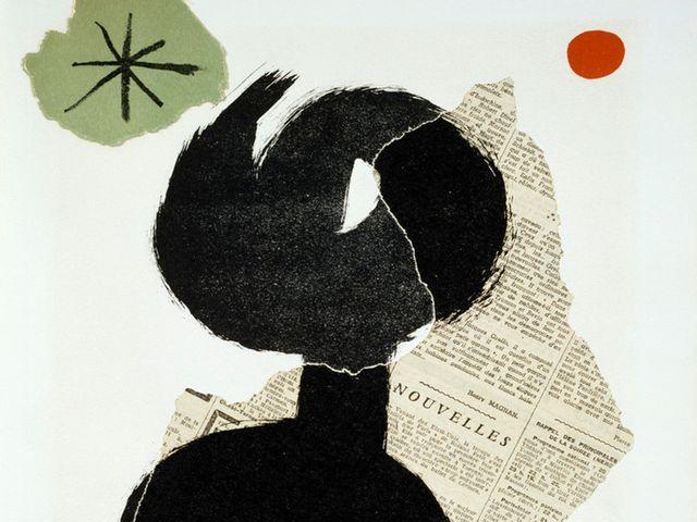 Illustration de Joan Miro pour Parler Seul de Tristan Tzara