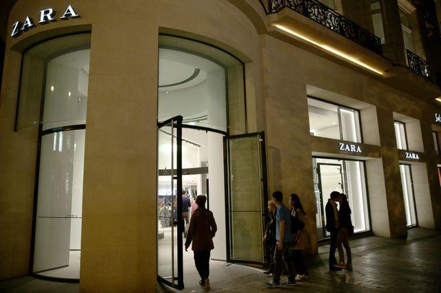 Les magasins Zara ouverts jusqu'à 22h en été