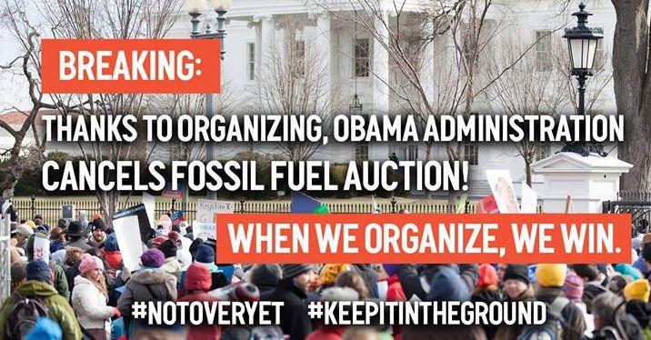 Appel à la mobilisation de 350.org aux Etats-Unis, pour que l'administration Obama désinvestisse des énergies fossiles