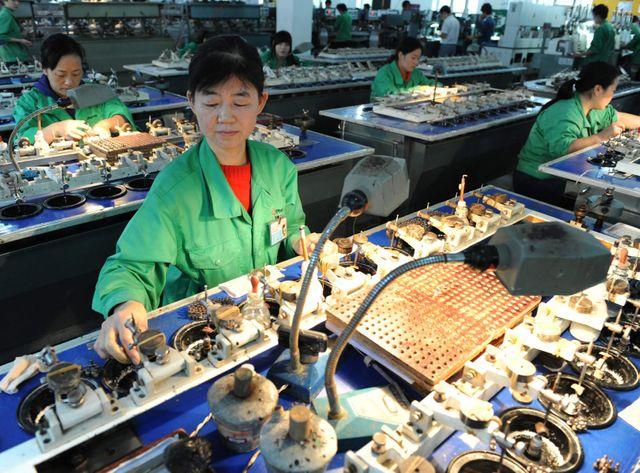 Une usine sous-traitante de Samsung, en Chine (Illustration)