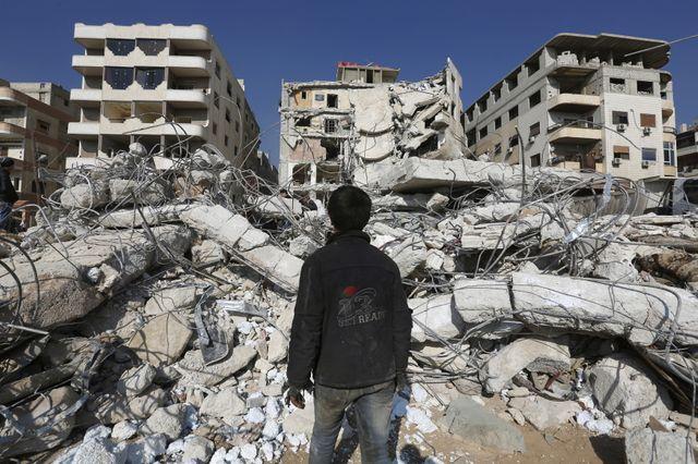 Damas, capitale syrienne.