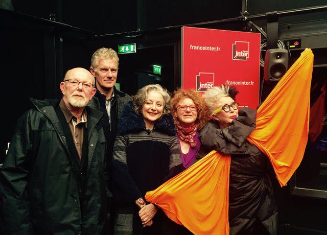 Jean-François Kahn, Didier Fusillier, Judith Benhamou-Huet, Agnès Tricoire et ORLAN