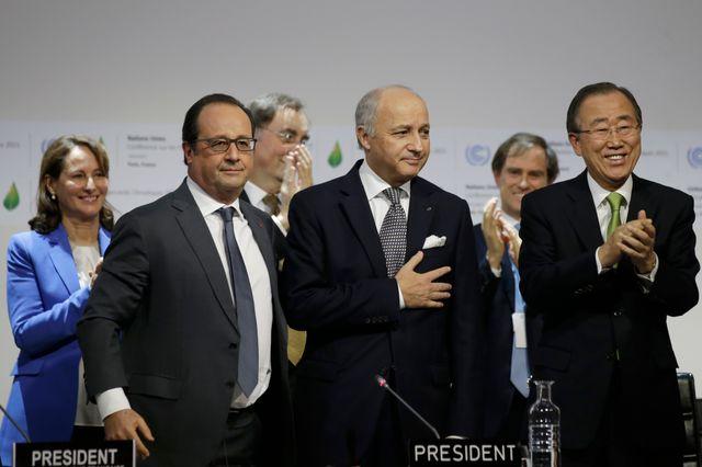 Le projet d'accord a été présenté à la COP21