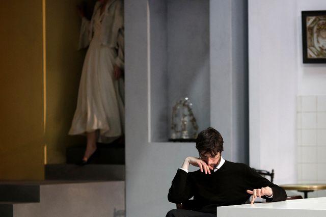 Tartuffe de Molière par Luc Bondy avec Micha Lescot - répétition
