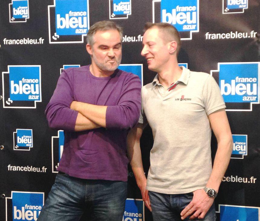 En toute simplicité, Thierry Mesnage et Fred du restaurant les Garçons