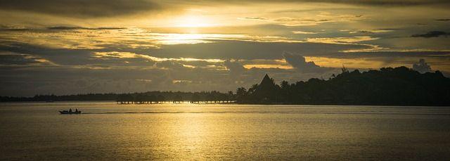 Tahiti Coucher de soleil