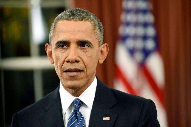 Barack Obama s'est adressé à la nation depuisle bureau ovale