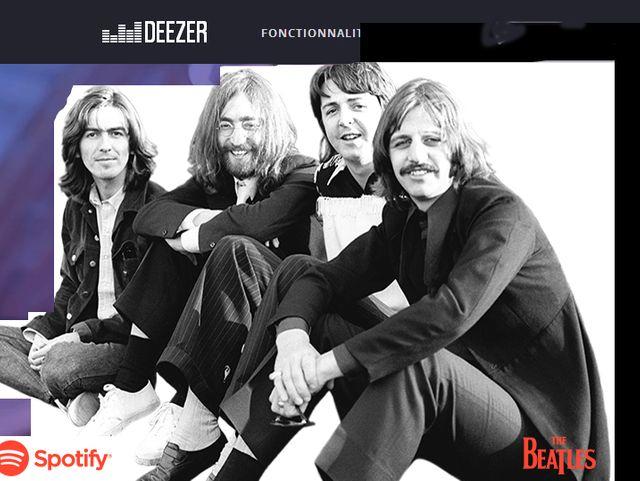 Les Beatles annoncés sur Spotify et Deezer