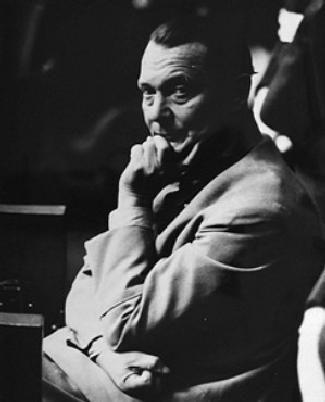 Hermann Goering à Nuremberg en 1945