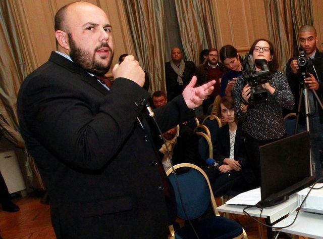 Philippe Verdon, l'un des deux anciens dirigeants du Bloc Identitaire qui rentrent au parlement régional