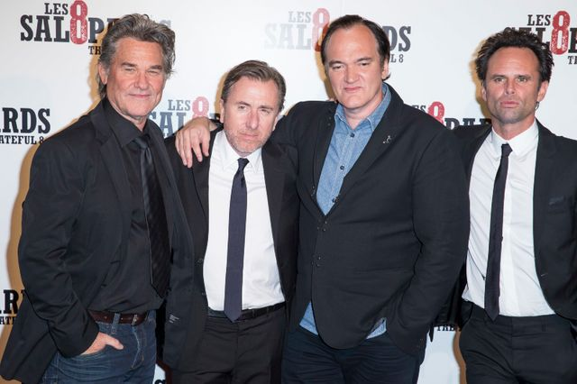 Kurt Russell, Quentin Tarantino, Tim Roth, Walton Goggins