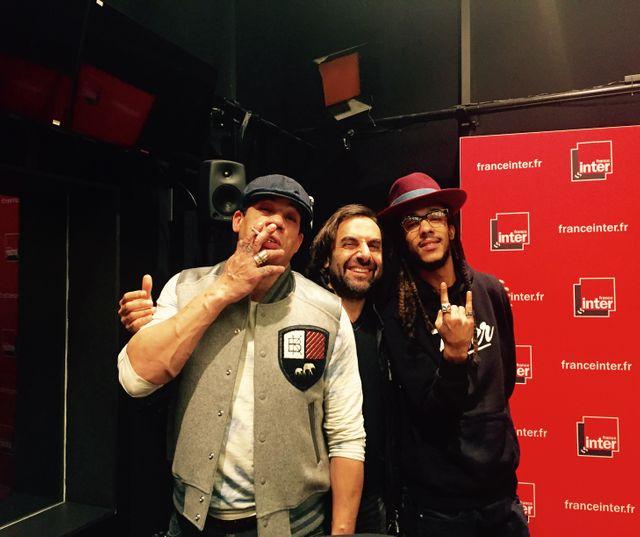 JoeyStarr, André Manoukian et Nathy